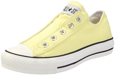 Converse AS Slip Can 122465, Unisex - Erwachsene Sneaker, Gelb (lemonade), EU 42.5 (US 9)