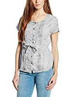 7 For All Mankind Blusa Blea (Gris)