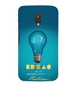EPICCASE Ideas Mobile Back Case Cover For Moto G 2nd Gen (Designer Case)