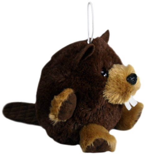 "Purr-Fection Benny Cushy Critter Beaver 5"" Plush"