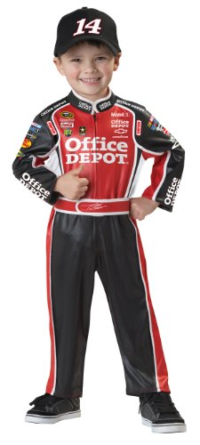 California Costumes Nascar Tony Stewart Toddler Costume, 3-4