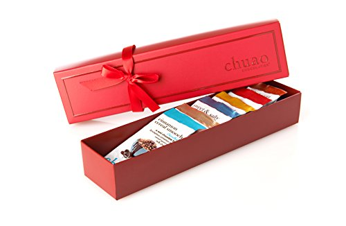 Chuao Chocolatier Taste the Joy 8 Piece Gift Set - Assorted Mini Chocolate Bars (8-piece) (Chocolate Bars Assorted compare prices)