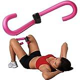 RONDE(ロンデ)内股 を ダイエット 内転筋 太もも 筋トレ 痩せ シェイプアップ 簡単 太ももダイエット もも裏筋トレ 脚やせ お腹やせ フィットネス ダイエット器具 エクササイズ バストアップ ピンク