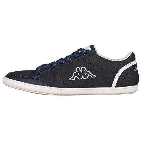 Kappa KENT LOW 241642, Sneaker uomo, Multicolore (Mehrfarbig (6710 NAVY/WHITE 6710 NAVY/WHITE)), 45