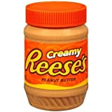 Reeses Peanut Butter, Creamy, 18 oz (Pack of 6)