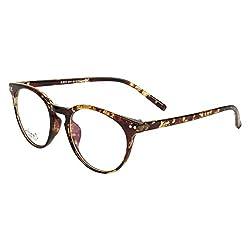 Zyaden Brown Round Eyewear Frame 135
