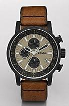 Fossil Vintage Chronograph Khaki Dial Mens Watch CH2738