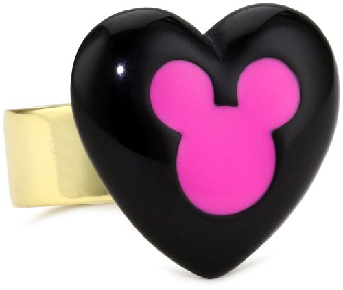 Disney Couture Heart Mickey Ring, Size 6