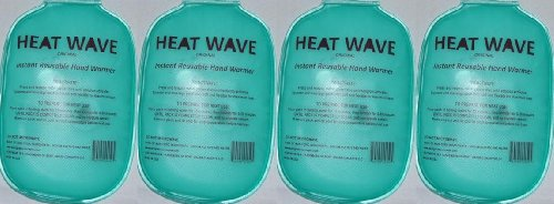HEAT WAVE Instant Reusable Heat Pack HAND WARMERS