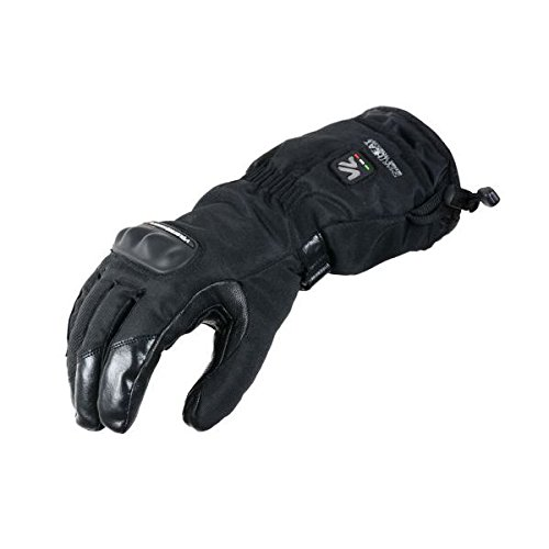 Gants chauffants V Quattro ALPHA - XL - Noir - Noir
