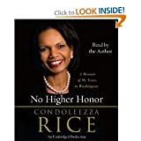 img - for No Higher Honor By Condoleeza Rice Random House Publishing Unabridged Audio Cd book / textbook / text book