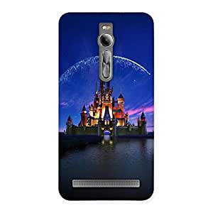 Cute Castle Multicolor Back Case Cover for Asus Zenfone 2