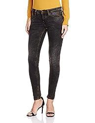 Pepe Jeans Women's Skinny Jeans (PL2018071-3_Used Black_26)