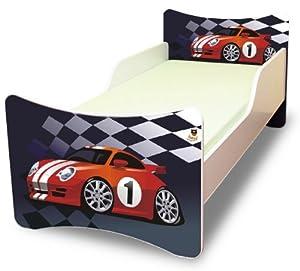 Best For Kids Kinderbett 70x140 Cars 1 + Matratze + Lattenrost + Wandaufkleber   Kundenbewertung und weitere Informationen