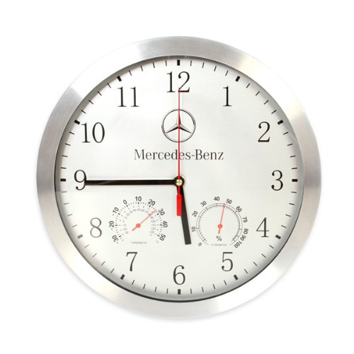 Genuine Mercedes Benz Round Wall Clock