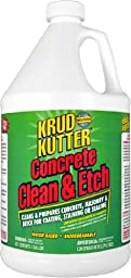 Krud Kutter CE01 Red Concrete Clean and Etch with Bland Odor, 1 Gallon