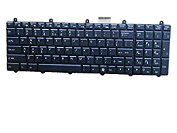 New US Layout Backlit Laptop WIN7 Keyboard Win 7 For Clevo P150EM P170EM P370EM P570WM P150SM P170SM P270WM P151SM1 P270wm3, Fit P/N V132150AK1 6-80-P2700-011-3 6-80-P2700-410-3 V132150AK3 6-80-P2700-011-3R Light Backlight Black Notebook US (This Keyboard