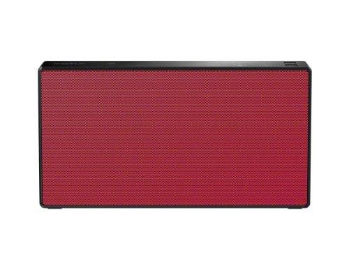 Sony Srsx5 Portable Nfc Bluetooth Wireless Speaker System (Red)