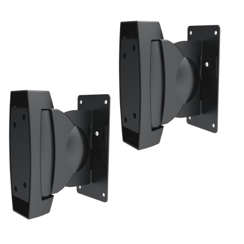 Brateck® SCHWERLAST Lautsprecher Wandhalterung Wandhalter Deckenhalterung Deckenhalter Halterung Halter garantiert sicheren Halt, Tragkraft bis 10 KG, neigbar schwenkbar, für Samsung MM-E330D 2.0 HW-F355/EN 2.1 HW-F450/EN 2.1 Sonos Playbar: TV-Soundbar und Wireless-Lautsprecher für Musik-Streaming Sony HT-CT60 2.1-Kanal Soundbar Speedlink Gravity VEOS 2.1 Yamaha YAS 101 YST SW 012 YST FSW 050 YHT-S 401