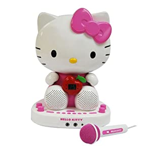 Hello Kitty Kt2007 CDG Karaoke System with Built-in Video Camera images