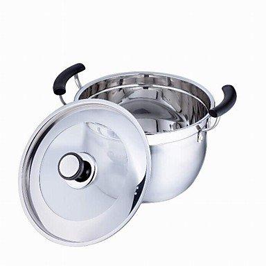 5QT-9.5 QT Stainless-steel Soup PotsDia 24cm x H20cm
