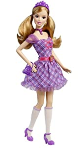 Barbie Princess Charm School: School Girl Princess Delancy Doll