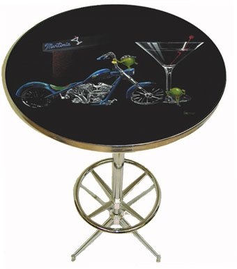 Michael Godard Pub Table - Custom Martini