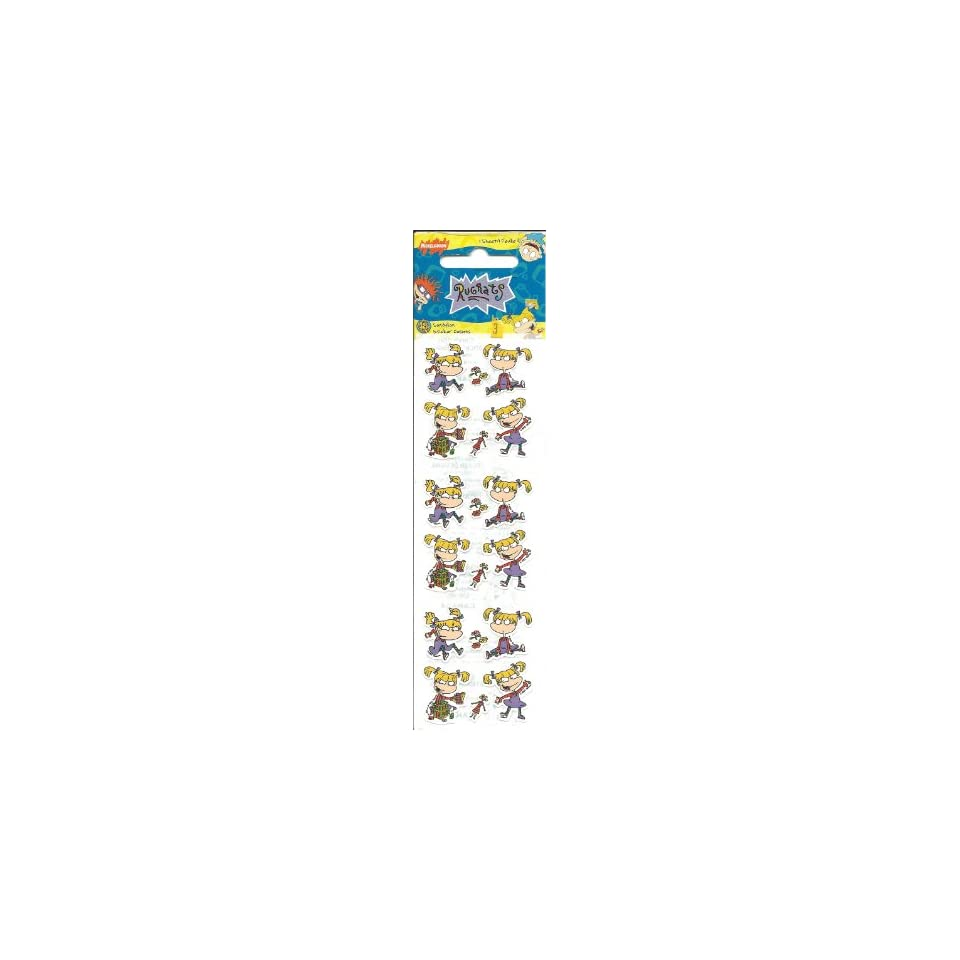 Rugrats Angelica Mini Scrapbook Stickers (PRKK1) on PopScreen
