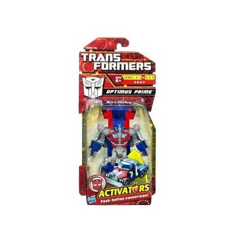 Transformers Activators Action Figure Rally Rumble Optimus Prime - 1