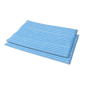 HAAN RMF-2X Ultra-Clean Pads, Ultra-Microfiber Steam Cleaning Pads For All HAAN FS, SI and MS series steamers; 2 Pack