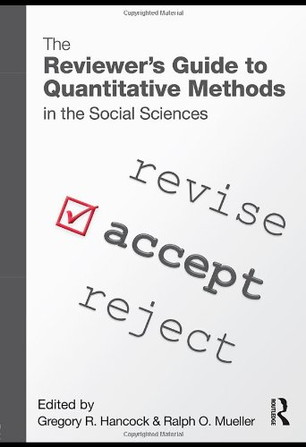 The Reviewer's Guide to Quantitative Methods in the...