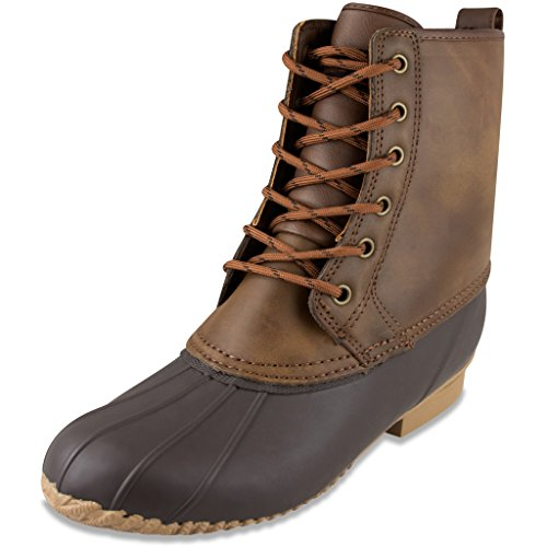 london-fog-mens-sutton-cold-weather-duck-boot-brown-11-m-us