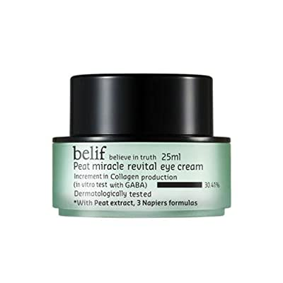 Cheapest belif Peat Miracle Revital Eye Cream from belif - Free Shipping Available