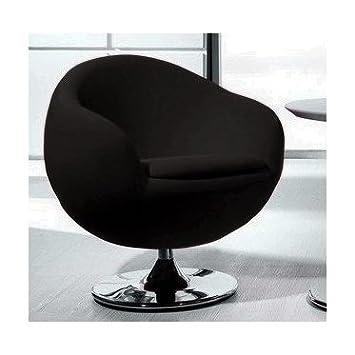 Fauteuil rotatif Ball noir