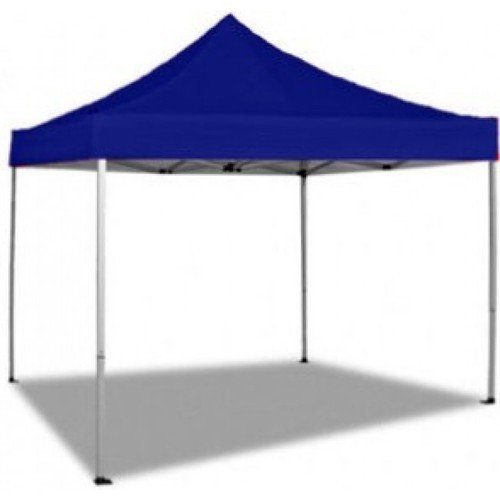 Gazebo richiudibile blu mt 3x3 feste stand fiere giardino for Arredamento per fiere