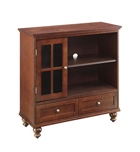 Convenience Concepts Designs2Go Tahoe Highboy TV Stand (Espresso Living Room Set compare prices)