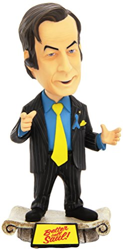 "Mezco Toyz Breaking Bad 6"" Saul Goodman Bobblehead Toy"