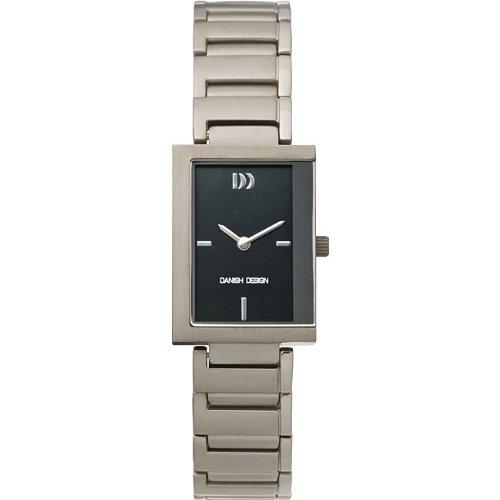 Danish Design Women's Titanium Black Dial Watch-IV62Q776