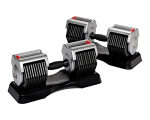 Lifecore Corebell 5-55-Pound Adjustable Dumbbell System