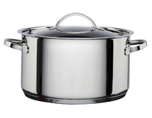 Hahn Casserole with Lid Stainless Steel, 24 cm, 6 Litre