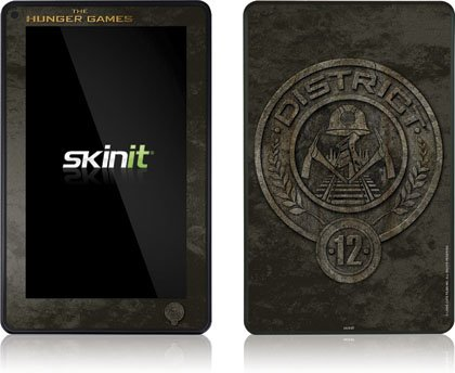 Skinit The Hunger Games -District 12 Stone Logo Vinyl Skin for Amazon Kindle Fire