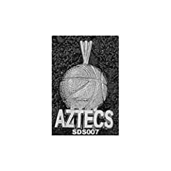 San Diego State Aztecs Basketball - 14K Gold by Logo Art