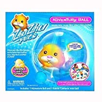 Zhu Zhu Pet Hamster for Sale Zhu Zhu Pets Adventure Ball from astore.amazon.com