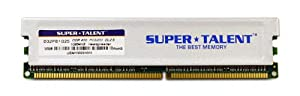 Super Talent DDR400 1GB/64X8 CL2.5 16CH Memory D32PB1G25