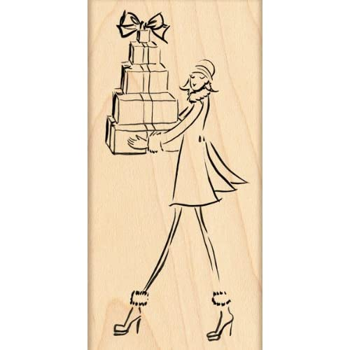Penny Black Rubber Stamp, Fashion Delivery   899359