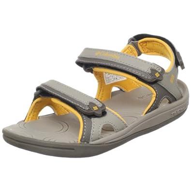Columbia BC4560 Techsun 3 Strap Sport Sandal (Toddler/Little Kid/Big Kid),Bungee Cord/Amber,10 M US Toddler
