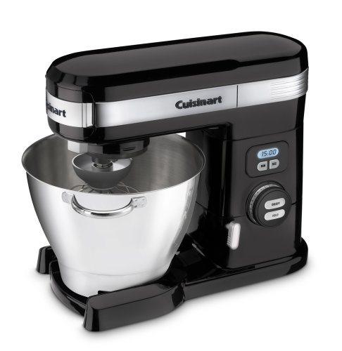 Details for Cuisinart SM-55BK 5-1/2-Quart 12-Speed Stand Mixer, Black by Cuisinart