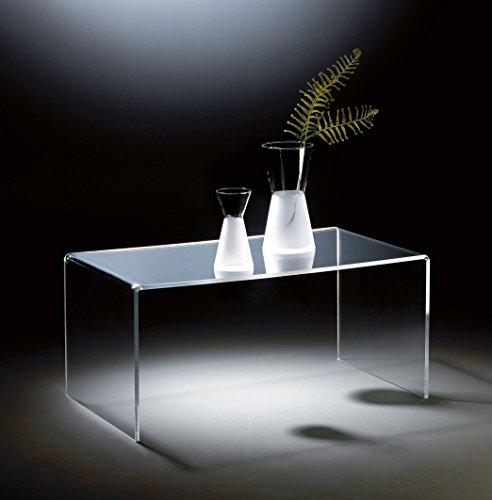 Hochwertiger-Acryl-Glas-Couchtisch-klar-90-x-50-cm-H-42-cm-Acryl-Glas-Strke-12-mm