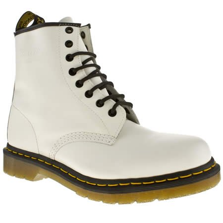 Dr Martens 8 Tie Z Bt - 11 Uk - White - Leather