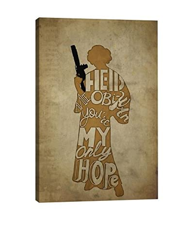 Darklord Gallery You're My Only Hope Canvas Print
